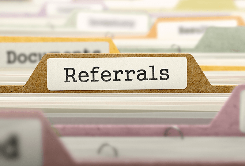 Referrals are new business waiting to happen