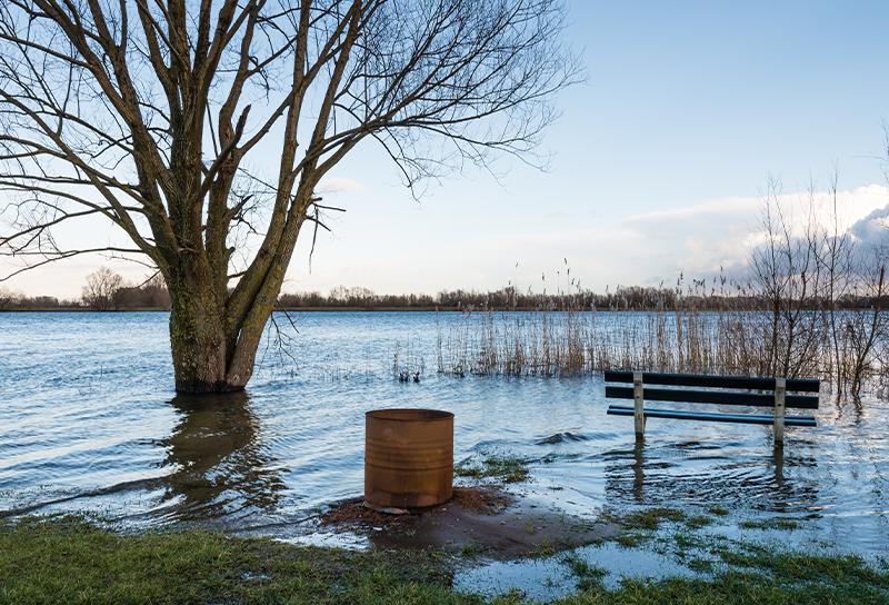 Spring flood season is here